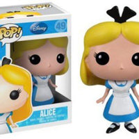Pop Disney 3.75 Inch Action Figure Alice In Wonderland - Alice #49