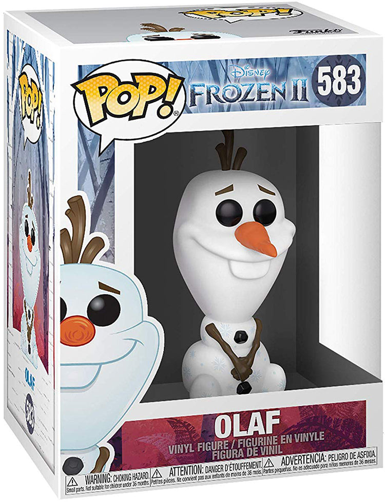 Pop Disney 3.75 Inch Action Figure Frozen II - Olaf #583