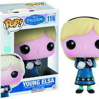 Pop Disney Frozen 3.75 Inch Action Figure - Young Elsa