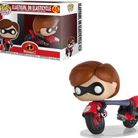 Pop Disney Incredibles 2 3.75 Inch Action Figure - Elastigirl On Elasticycle #45