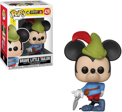 Pop Disney 3.75 Inch Action Figure Mickey Mouse - Brave Little Taylor #429