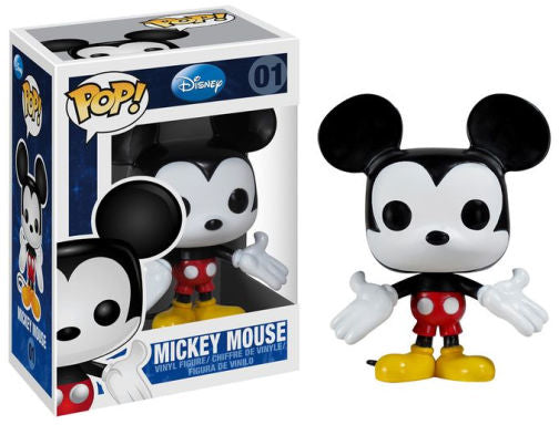 Pop Disney 3.75 Inch Action Figure Mickey Mouse - Mickey Mouse #01