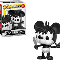 Pop Disney 3.75 Inch Action Figure Mickey Mouse 90 Years - Plane Crazy #431