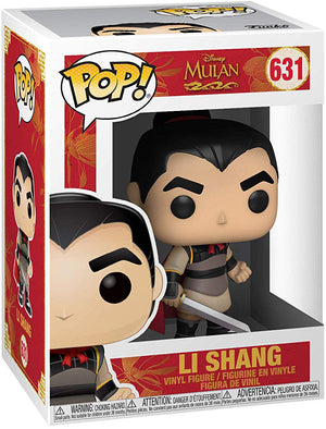 Pop Disney 3.75 Inch Action Figure Mulan - Li Shang #631