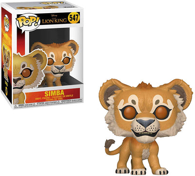 Pop Disney 3.75 Inch Action Figure The Lion King - Simba #547