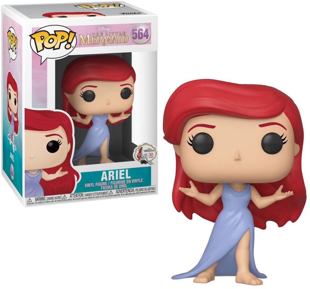 Pop Disney 3.75 Inch Action Figure The Little Mermaid - Ariel In Dress #564