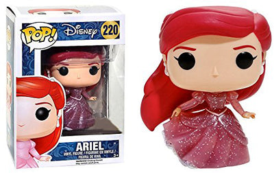 Pop Disney 3.75 Inch Action Figure The Little Mermaid - Glitter Ariel #220 Exclusive