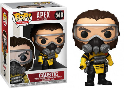 Pop Games 3.75 Inch Action Figure Apex Legends - Caustic #548