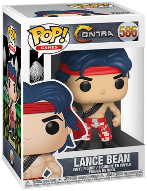 Pop Games 3.75 Inch Action Figure Contra - Lance Bean #586