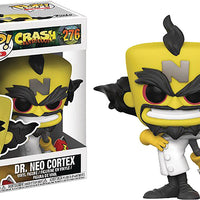 Pop Games Crash Bandicoot 3.75 Inch Action Figure - Dr Neo Cortex #276
