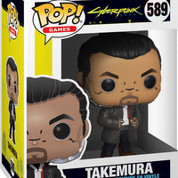 Pop Games Cyberpunk 3.75 Inch Action Figure - Takemura #589