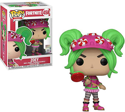 Pop Games 3.75 Inch Action Figure Fortnite - Zoey #458