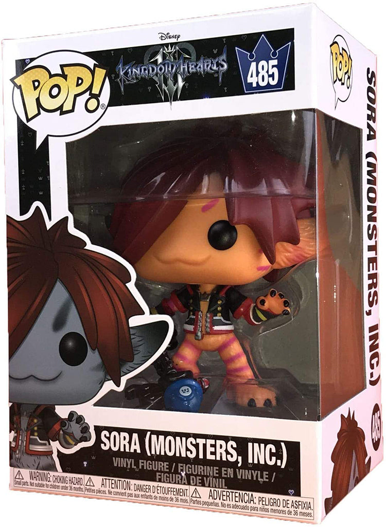 Pop Games 3.75 Inch Action Figure Kingdom Hearts - Sora Monsters Inc #485 Exclusive