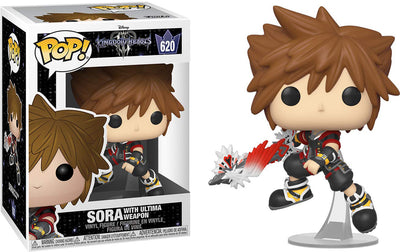 Pop Games 3.75 Inch Action Figure Kingdom Hearts - Sora With Ultima Weapon #620