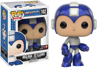 Pop Games 3.75 Inch Action Figure Megaman - Mega Man Ice Slasher #102
