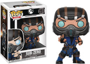 Pop Games 3.75 Inch Action Figure Mortal Kombat - Sub-Zero #251