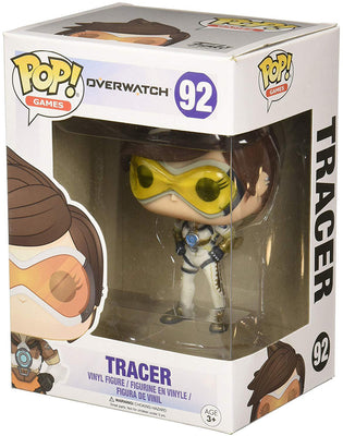 Pop Games 3.75 Inch Action Figure Overwatch - Tracer #92 Exclusive