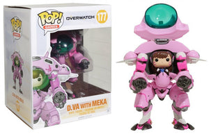 Pop Games 6 Inch Action Figure Overwatch - D.Va With Meka #177