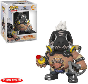 Pop Games 6 Inch Action Figure Overwatch - Roadhog #309