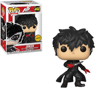 Pop Games 3.75 Inch Action Figure Persona 5 - Joker Unmasked #468 Chase