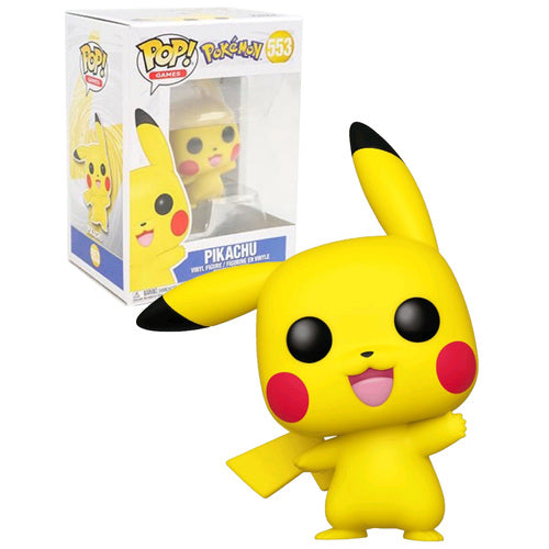 Pop Games 3.75 Inch Action Figure Pokemon - Pikachu #553