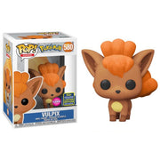 Pop Games Pokemon 3.75 Inch Action Figure Exclusive - Vulpix Flocked #580