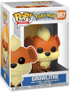 Pop Games Pokemon 3.75 Inch Action Figure - Growlithe #597