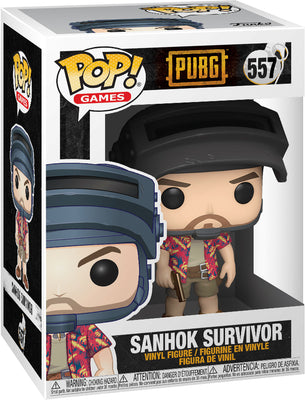 Pop Games 3.75 Inch Action Figure PUBG - Sanhok Survivor #557