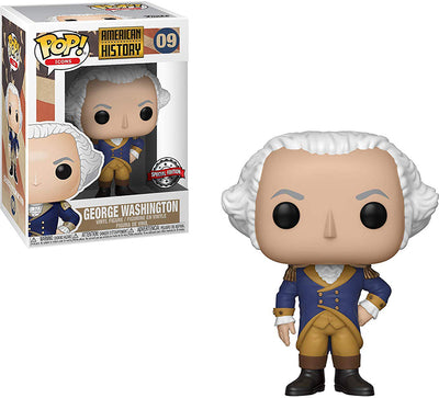 Pop Icons 3.75 Inch Action Figure American History - George Washington #09