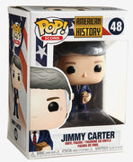 Pop Icons 3.75 Inch Action Figure American History - Jimmy Carter #48
