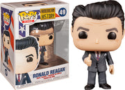 Pop Icons 3.75 Inch Action Figure American History - Ronald Reagan #49