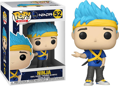 Pop Icons Ninja 3.75 Inch Action Figure - Ninja #52