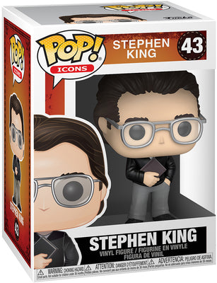 Pop Icons 3.75 Inch Action Figure Stephen King - Stephen King #43