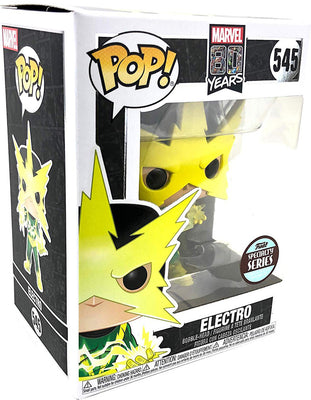 Pop Marvel 3.75 Inch Action Figure 80 Years - Electro #545 Exclusive