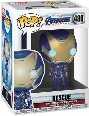 Pop Marvel 3.75 Inch Action Figure Avengers Endgame - Rescue #480
