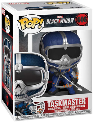 Pop Marvel 3.75 Inch Action Figure Black Widow - Taskmaster with Bow #606