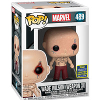 Pop Marvel Deadpool 3.75 Inch Action Figure Exclusive - Wade Wilson (Weapon XI) #489