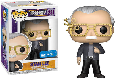 Pop Marvel 3.75 Inch Action Figure Guardians Of The Galaxy Vol 2 - Stan Lee #281 Exclusive