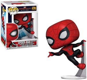 Pop Marvel 3.75 Inch Action Figure Spider-Man Far From Home - Spider-Man Upgraded Suit
