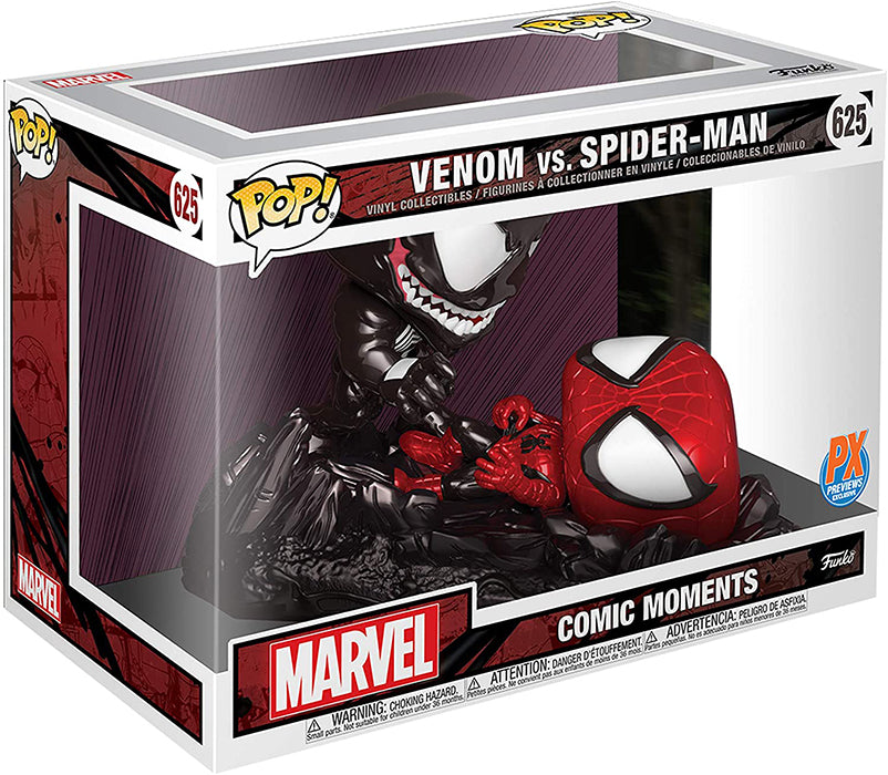 Pop Marvel Spider-Man 3.75 Inch Action Figure - Venom vs Spider-Man #625
