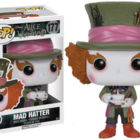 Pop Movies 3.75 Inch Action Figure Alice In Wonderland - Mad Hatter #177