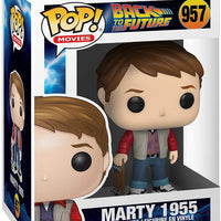 Pop Movies Back To The Future 3.75 Inch Action Figure - Marty 1955 #957