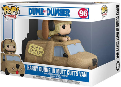 Pop Movies Dumb and Dumber 3.75 Inch Action Figure Rides - Harry Dunne in Mutt Cutts Van #96