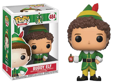 Pop Movies Elf 3.75 Inch Action Figure - Buddy Elf #484