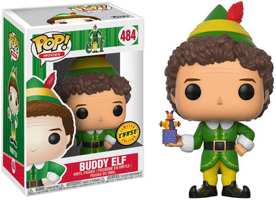 Pop Movies Elf 3.75 Inch Action Figure Exclusive - Buddy Elf #484 Chase
