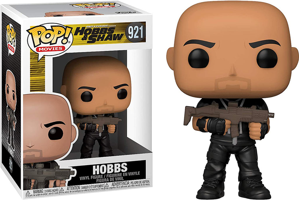 Pop Movies Fast & Furious Hobbs & Shaw 3.75 Inch Action Figure - Hobbs #921