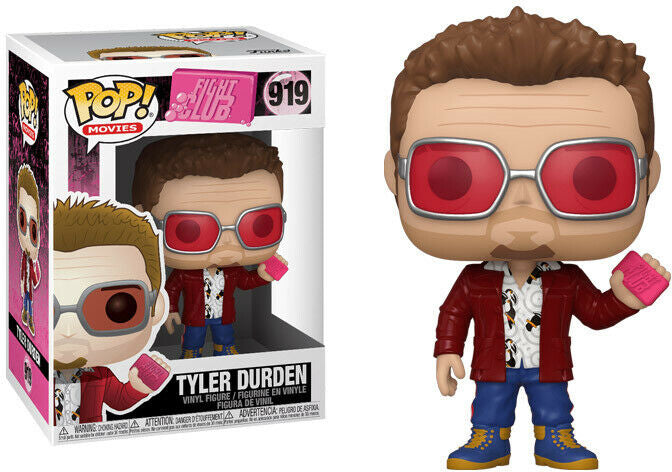 Pop Movies Fight Club 3.75 Inch Action Figure - Tyler Durden #919