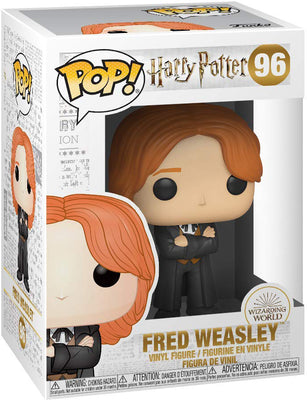 Pop Movies 3.75 Inch Action Figure Harry Potter - Fred Weasley Yule #96