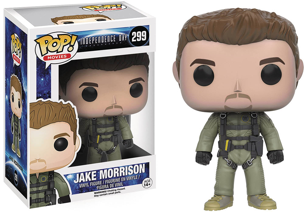 Pop Movies Independence Day 3.75 Inch Action Figure - Jake Morrison #299
