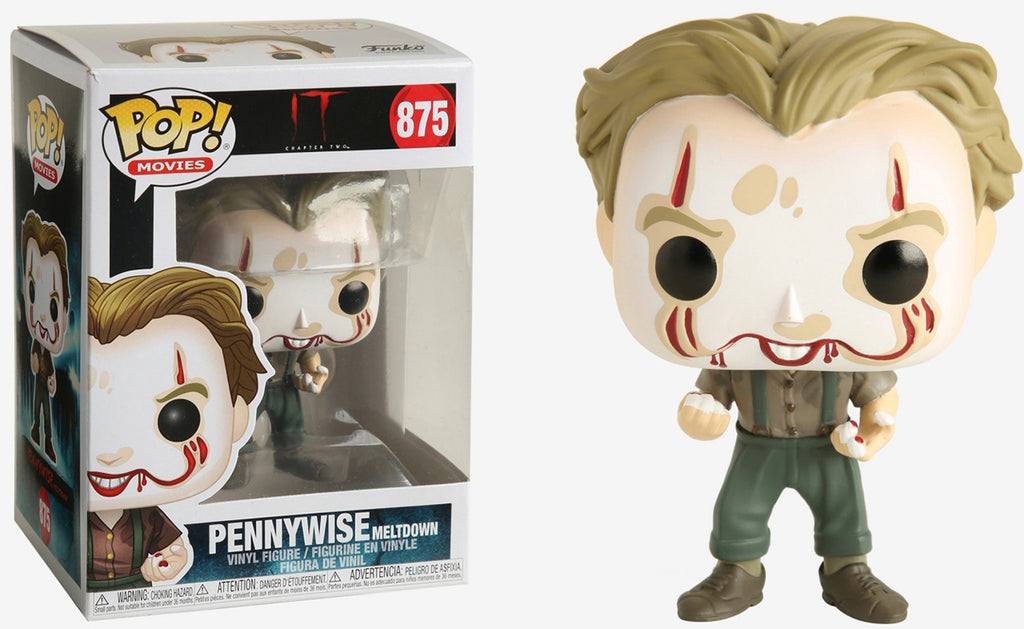 Pop Movies 3.75 Inch Action Figure IT - Pennywise Meltdown #875
